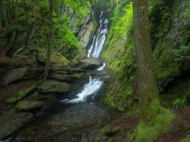 Ross Brook Falls Whirlpool, Savoy State Forest, The Berkshires, Massachusetts