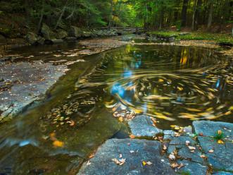 Trout Brook Whirlpools, Adirondacks, New York