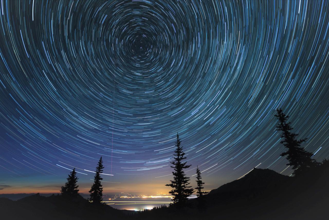 Hurricane Ridge Star Circles, Olympic National Park, Washington