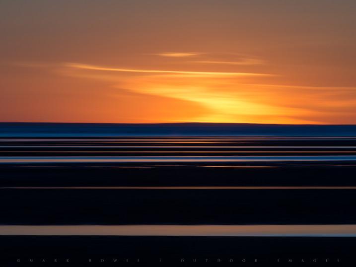 Sinking Sun, First Encounter Beach, Cape Cod, Massachusetts