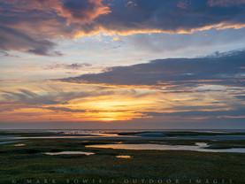 Layers of Sunset, Paines Creek Landing, Cape Cod, Massachusetts