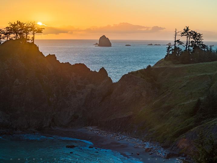Sea Stack Sunset, Samuel Boardman State Park, Oregon