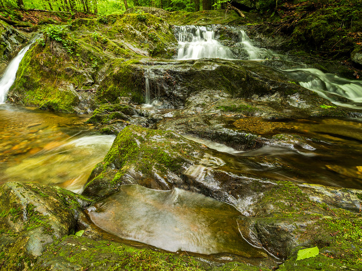 Pool & Cascades, Tannery Brook, The Berkshires, Massachusetts