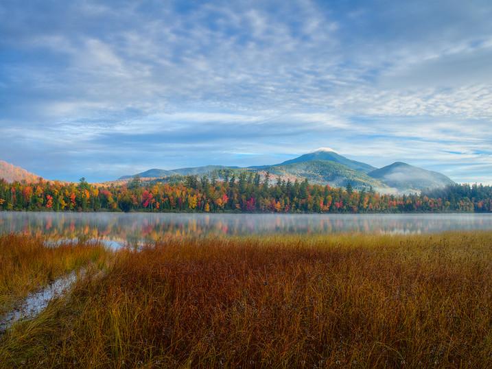 Autumn Morning Mists, Connery Pond, Adirondacks, New York