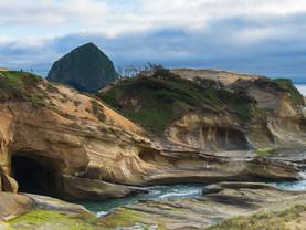 Sculptured Headland, Cape Kiwanda, Oregon
