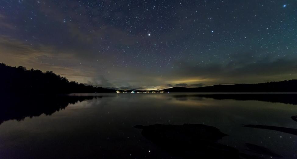 Lightning Storm Over Seventh Lake, Adirondacks, New York