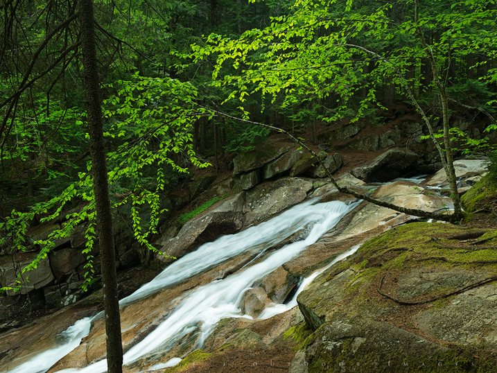 Down-Around-Up-and-Over, Lower Tenant Creek Falls, Town of Hope, Adirondacks, New York
