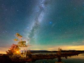 Standing in Awe, Tupper Lake, Adirondacks, New York