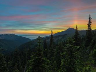 Painter's Palette, Hurricane Ridge, Olympic National Park, Washington