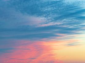Just Sky, From First Encounter Beach, Cape Cod, Massachusetts