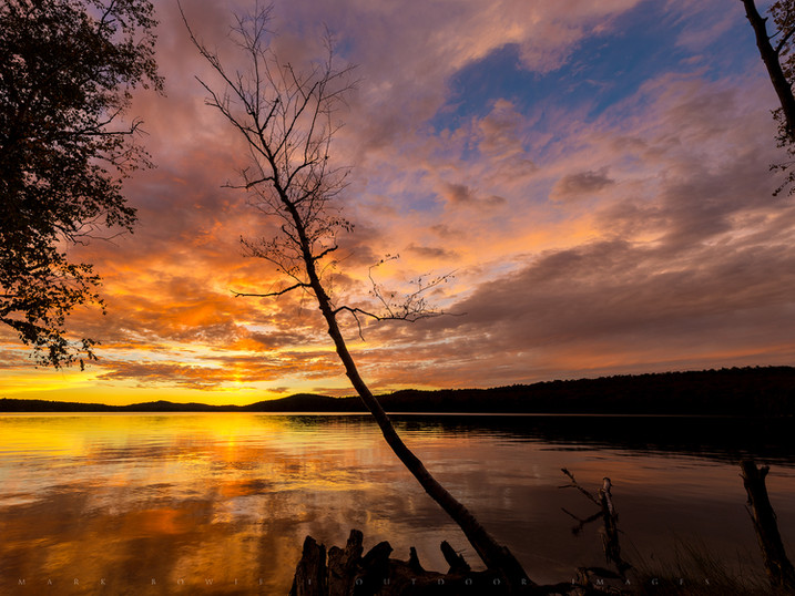 Sunset Crescendo, Seventh Lake, Fulton Chain of Lakes, Adirondacks, New York