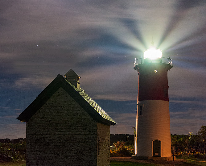 In Communication, Nauset Light, Cape Cod National Seashore, Massachusetts