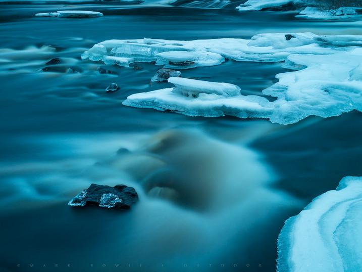 Ice Jewels, Bog River Falls, Adirondacks, New York