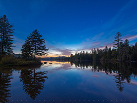 Twilight Stars, Lake Durant, Adirondacks, New York