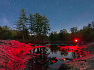 Night Explorer on the West Branch of the Moose River, Adirondacks, New York
