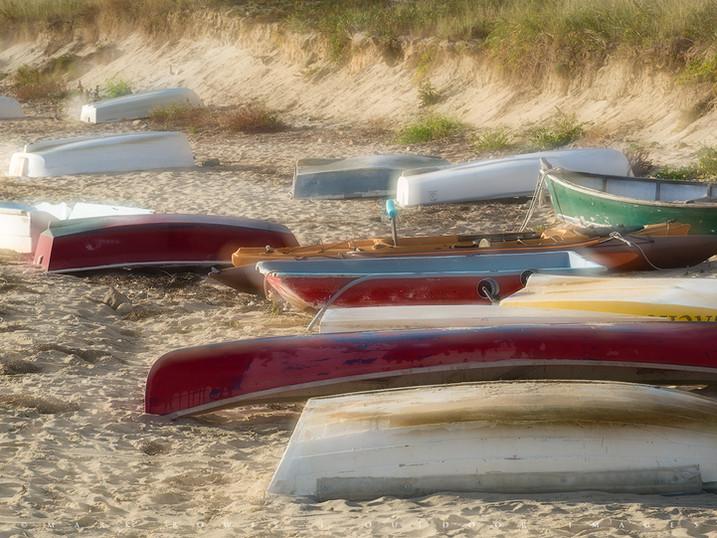 Beached, Chatham Harbor, Cape Cod, Massachusetts