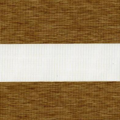 Рулонные шторы Зебра Этник св.коричневый , цена за изделие шт.