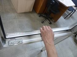 Измерение ширины москитной сетки
