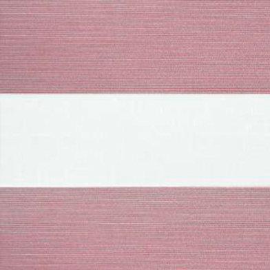 Рулонные шторы Зебра Металлик красный  , цена за изделие шт.