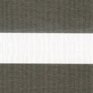 Рулонные шторы Зебра Металлик темно-серый  , цена за изделие шт.