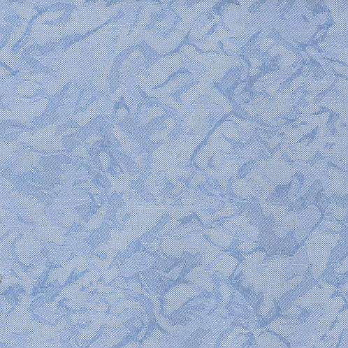 Рулонные шторы Шёлк морозно-голубой, цена за изделие шт.