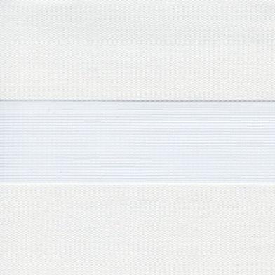 Рулонные шторы Зебра Софт белый, цена за изделие шт.
