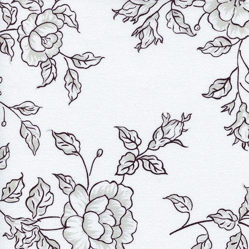 Рулонные шторы Китайская Роза черный, цена за изделие шт.