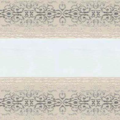 Рулонные шторы Зебра Арабеска магнолия, цена за изделие шт.