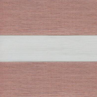 Рулонные шторы Зебра Палас розовое золото  , цена за изделие шт.