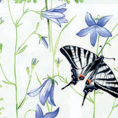Рулонные шторы Флора белый, цена за изделие шт.