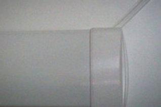 Верхний карниз (оцинкованная сталь) IS 08/2 белый, п/м.