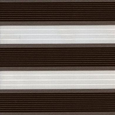 Рулонные шторы Зебра Адажио коричневый , цена за изделие шт.
