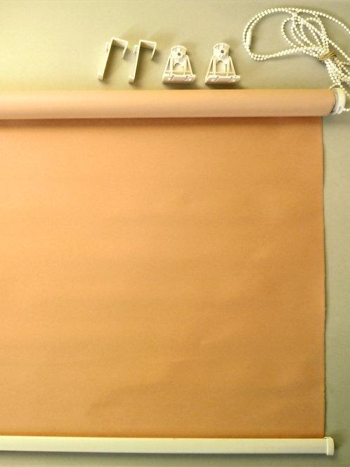 Рулонные шторы Мини Uni блэк-аут персиковый