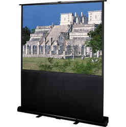 A DJ Connection Tripod Projection Screen