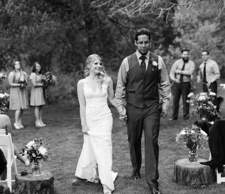 A DJ Connection Outdoor Wedding Ceremony