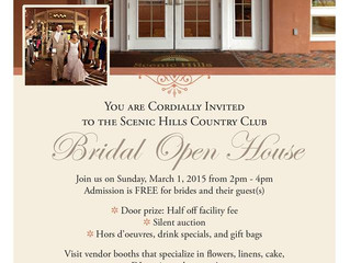 Scenic Hills Open House March 1st 2-4PM