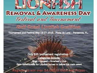 We are Proud to Sponsor Lionfish Removal and Awareness