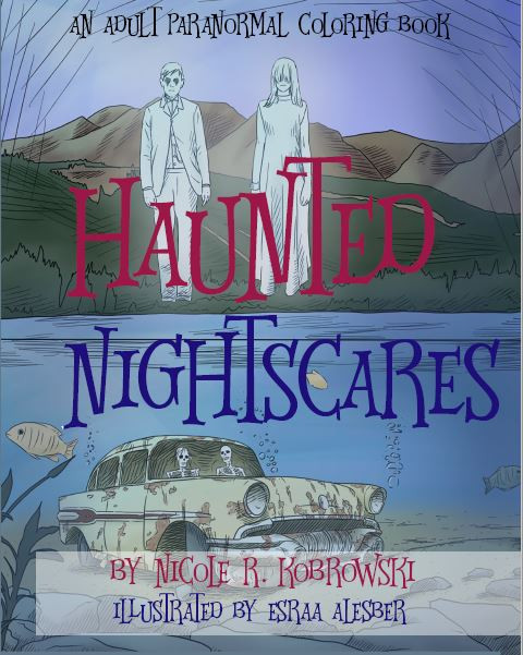 Haunted Nightscares - A Paranormal Coloring Book
