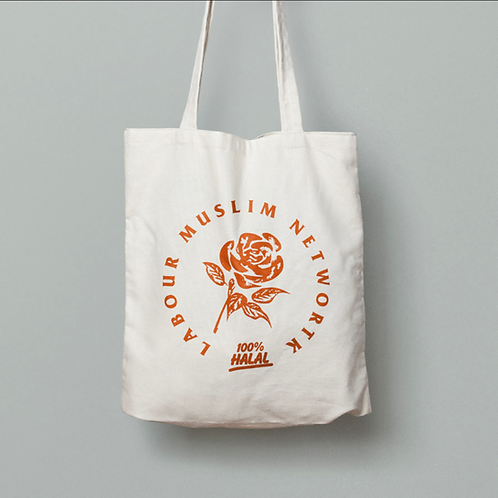 LMN 100% Halal Tote Bag