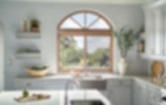 Milgard Essence Arch Window