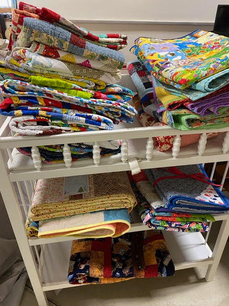 Pile of 72 Quilts from CQC
