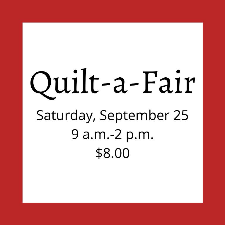 Quilt-a-Fair - SATURDAY