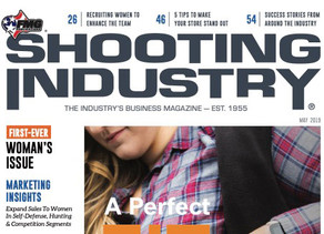 """Femme Fatale ARMS featured in """"SHOOTING INDUSTRY"""" magazine."""