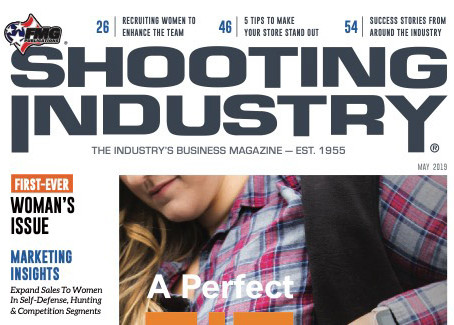 "Femme Fatale ARMS featured in ""SHOOTING INDUSTRY"" magazine."