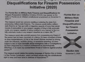 Propose Anti Gun Bill Coming Our Way