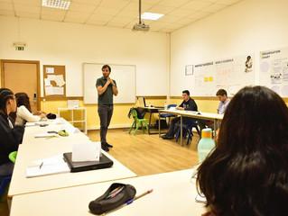 Dias de imersão APORFEST para a fabricação de um evento aos alunos da ETPmoita