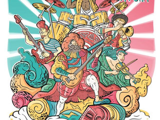 O papel do artwork na promoção dos festivais de música