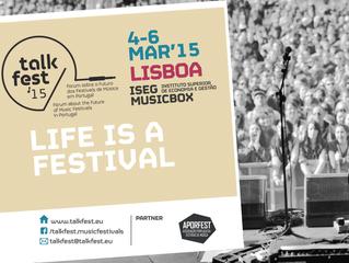 Talkfest'15: primeiras novidades