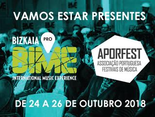 Vamos estar no BIME PRO, em Bilbao, de 24 a 26 outubro. Esteja connosco!