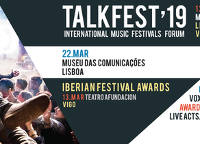 Talkfest: The 2019 edition starts tomorrow in Vigo with the gala of the Iberian Festival Awards. Be